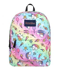 Unicorn Backpack Rainbow