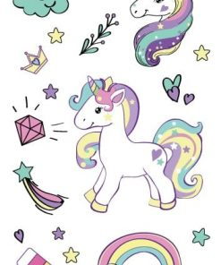 Unicorn Tattoo For Kids