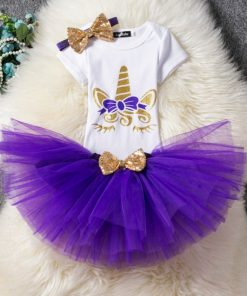 Unicorn Costume Toddler Purple