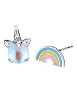 Unicorn Earrings Rainbow