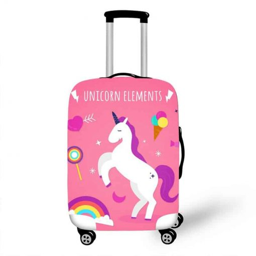 Unicorn Suitcase Rolling