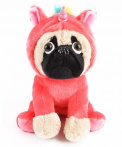 Unicorn Stuffed Animal Pugicorn