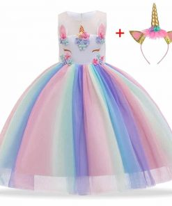 Unicorn Dress For 10 Year Olds