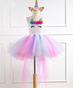 Unicorn Costume Kid Toddler Girl