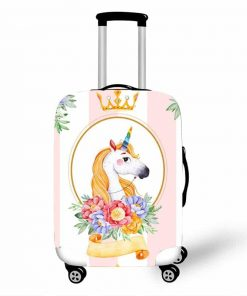 unicorn cabin suitcase