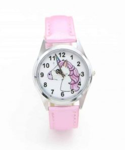 Unicorn Pink Watch For Girl