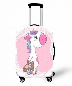 Unicorn Suitcase Large