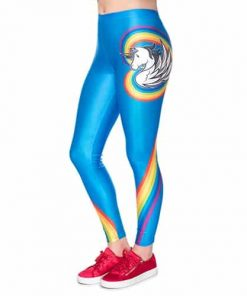 Unicorn Leggings Rainbow
