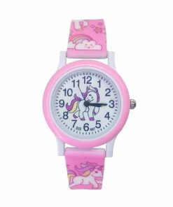 Unicorn Pink Watch For Little Girl