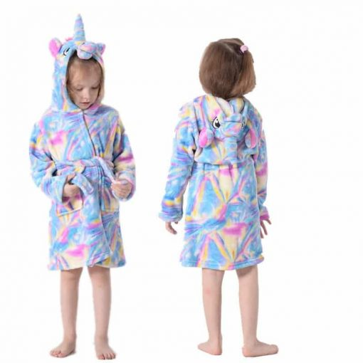 Unicorn Robe For Toddlers