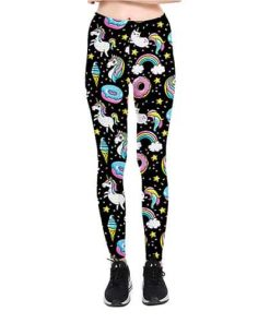 Unicorn Leggings Lula Print