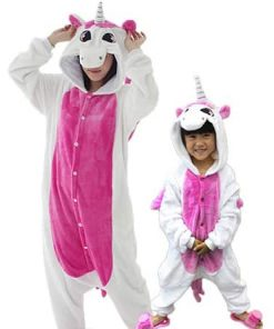 Unicorn Hoodie Hooded Pajamas