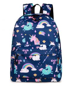 Unicorn Backpack For School