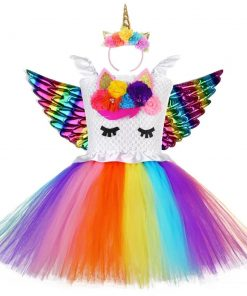 Unicorn Costume Toddler Rainbow