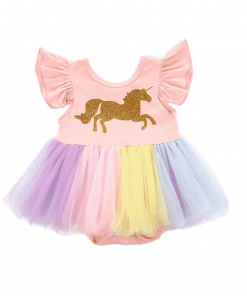 Unicorn Costume Baby Rainbow
