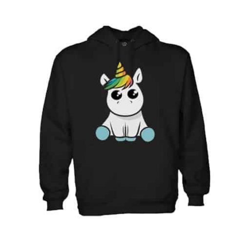 Unicorn Sweater Black