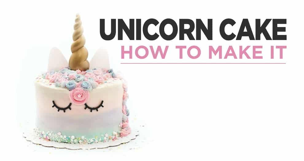 How To Make A Unicorn Cakes ?