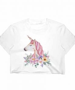 Unicorn Crop Top The Next Fashion