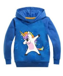 Unicorn Hoodie Hooded Sweatshirt