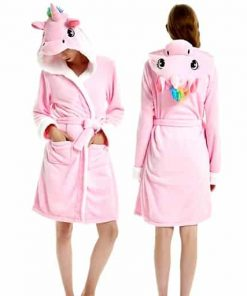 Unicorn Robe For Adults