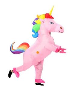 Unicorn Costume Adult Inflatable