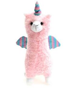 Unicorn Stuffed Animal Llama