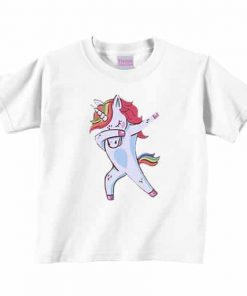 Unicorn Shirt Dab