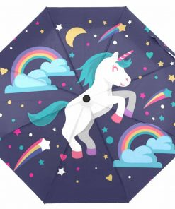 Unicorn Umbrella Rainbow