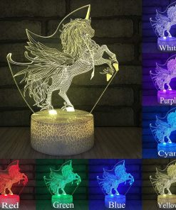 Unicorn Lamp Eez