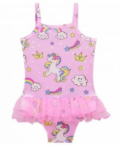 Unicorn Bathing Suit With Tutu