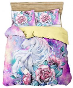 Unicorn Bedding Set Queen Size