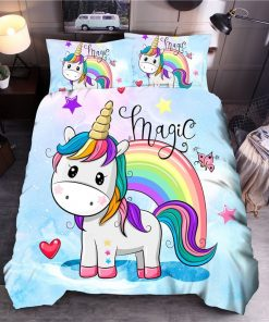 Unicorn Bedding Queen