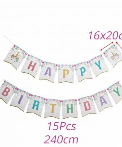 Unicorn Party Decoration Banners