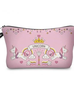 Unicorn Makeup Bag Pouch