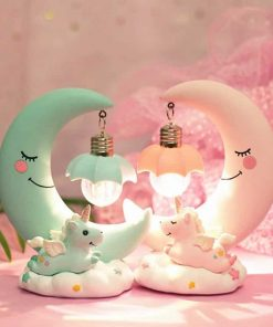 Unicorn Lamp Night