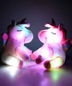 Unicorn Night Light Teddy