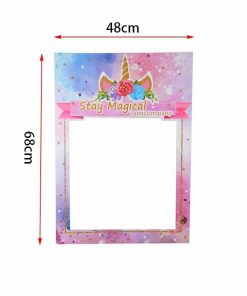 Unicorn Picture Frame For Party