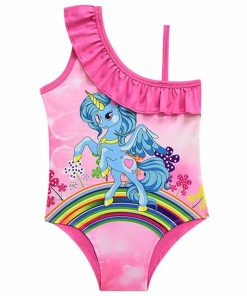 Unicorn Bathing Suit Girl