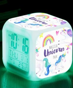 Unicorn Alarm Clock Led
