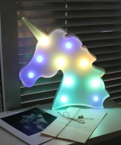 Unicorn Night Light Wall