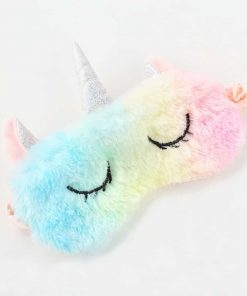 Unicorn Sleep Mask Rainbow