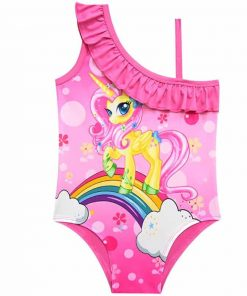 Unicorn Bathing Suit 5t