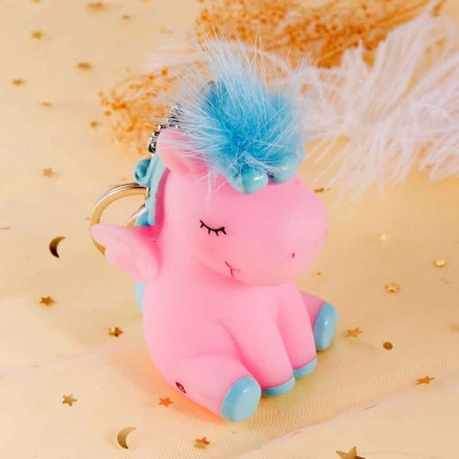 Unicorn Keychain Soft Toy