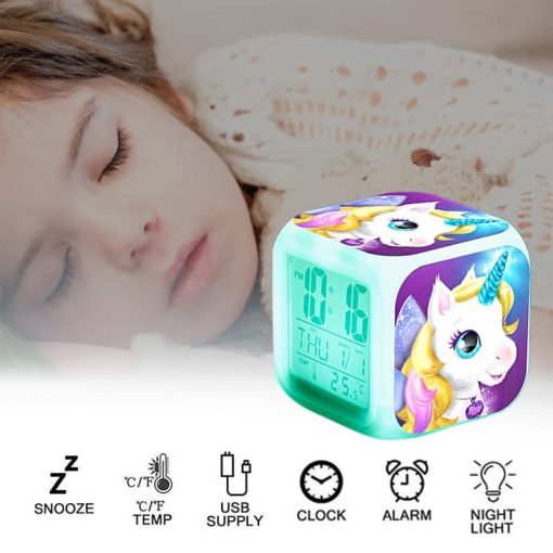 Unicorn Alarm Clock Radio