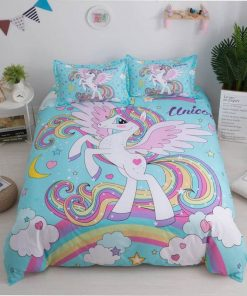 Unicorn Bedding Bedroom Decor