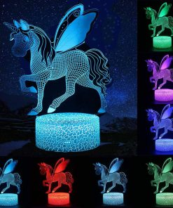 Unicorn Lamp 3d