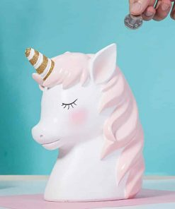 Unicorn Piggy Bank Pottery Barn