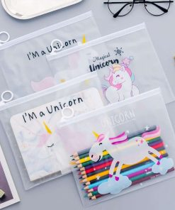 Unicorn Makeup Bag Clear