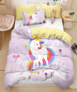 Unicorn Bedding Set Sheets Twin