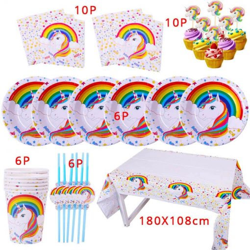 Unicorn Party Decoration Items